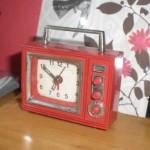TV型ミニチュア目覚まし時計が可愛すぎる!我が家の宝物