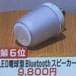 2コ買いすべし!無印「LED電球型Bluetoothスピーカー」