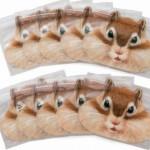 【フェリシモユーモアシリーズ】シマリスのもぐもぐ頬袋♪