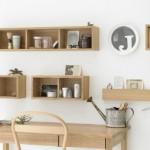 石膏ボード壁に取り付けられる!無印の収納家具シリーズ